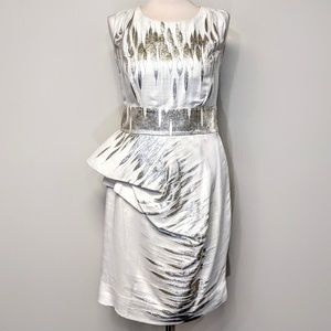 $1795 Ports 1961 Peplum Dress
